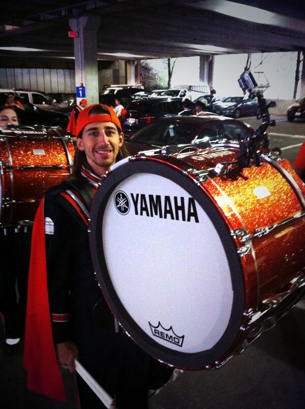 @uvadrumline with #bassdrum @gop