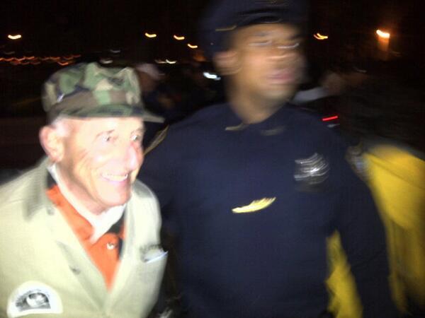 Veterans Arrested at Vietnam Memorial During their Vigil for Fallen Comrades  BWBY2JmCAAAf2dZ