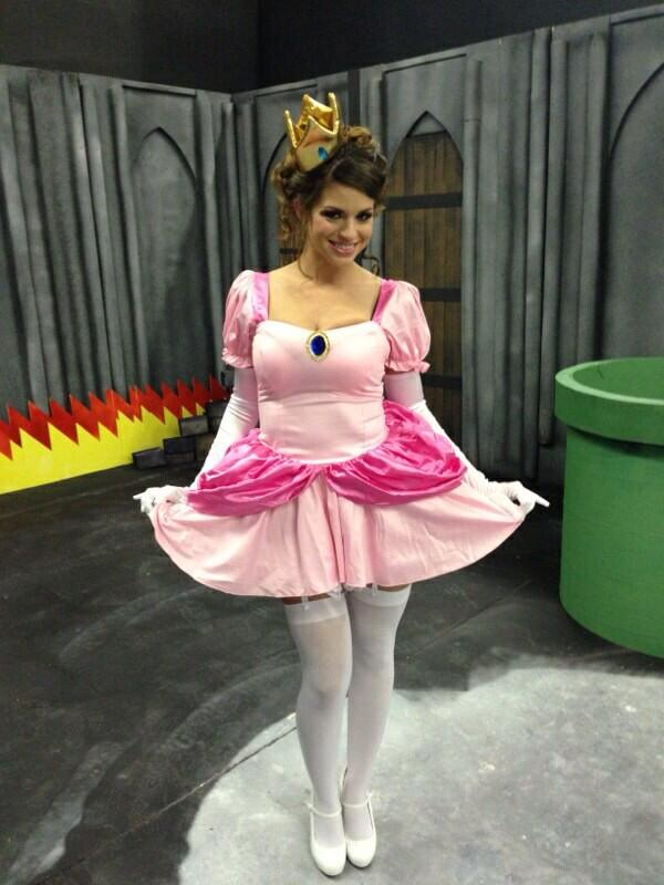 "Brooklyn Chase™ on Twitter: ""One last Princess Peach photo ..."