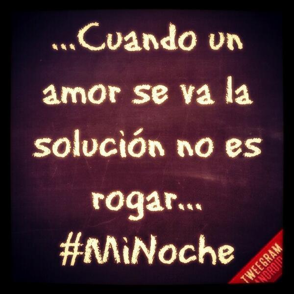 Frases De Reykon On Twitter Cuando Un Amor Se Va La Solucion No