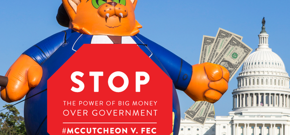 Join activists to #STOP the power of big money in our #government!  j.mp/1a7KeoO @Demos_Org #McCutcheon http://twitter.com/MoveOn/status/387593877340712960/photo/1