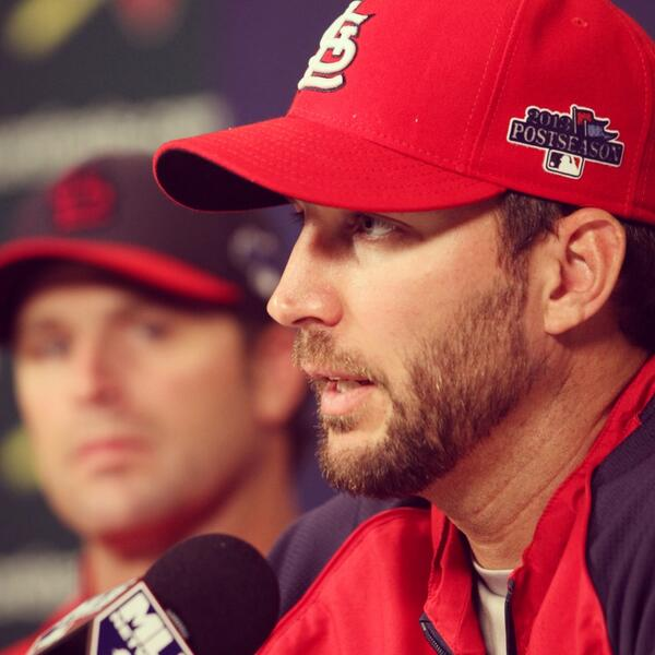 """Throughout my whole life, I've wanted to be in the pressure moments."" - Adam Wainwright #Postcards http://twitter.com/Cardinals/status/387644160854855681/photo/1"