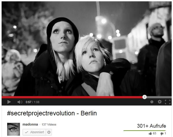 nibigermany ArtForFreedom - Madonna Twitter Live Art Curation