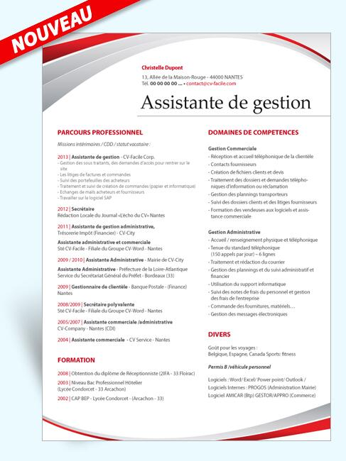 mise en page cv open office up83