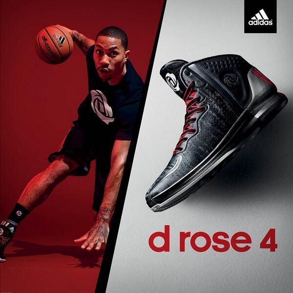 adidas rose twitter