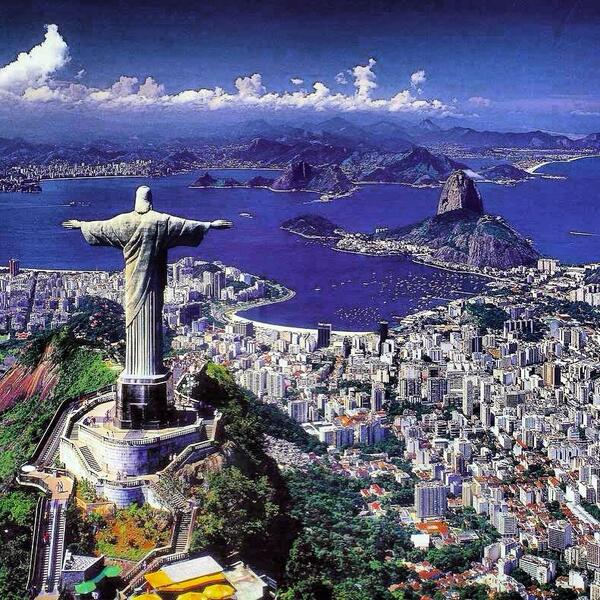 Just Landed In Rio... Still Amazed By a The Places Basketball Has Taken Me.. @chicagobulls @NBA #blessed #holdat http://t.co/EIP7L41i1r