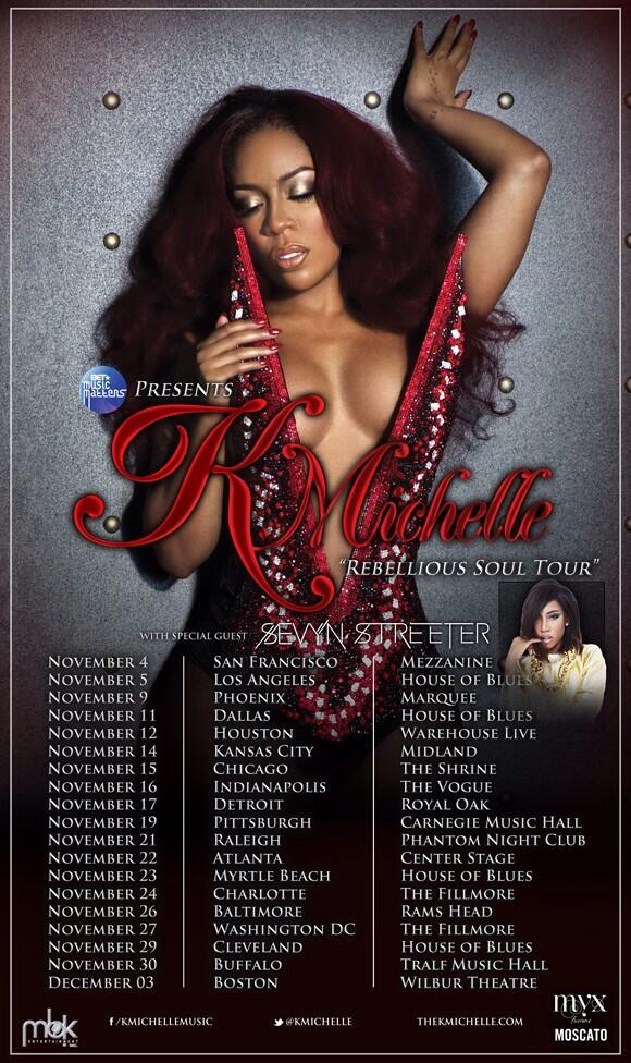 "K. Michelle ""Rebellious Soul"""