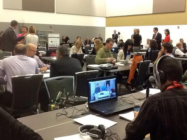 Even by Skype! #gtecdata Come by and pay us a visit. #gtec2013 Open Data Speed Dating Room 207. http://twitter.com/CLB_7/status/387987559617286145/photo/1
