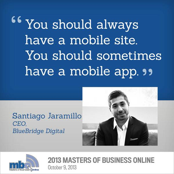 Mobile is here to stay - @santiagojara