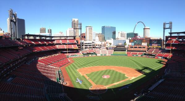 Dear Busch Stadium, you are beautiful. Love, #PostCards http://twitter.com/Cardinals/status/388035450545246208/photo/1