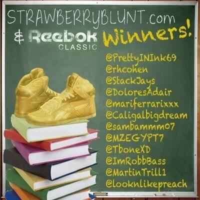 Shout out to our @ReebokClassics giveaway winners! @caligalbigdream @sambammm07 @MZEGYPT7 @TboneXD @ImRobbBass http://t.co/qDyu6QaOPz