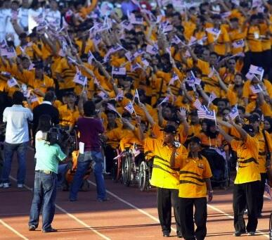 Come what may, we will survive! Go Malaysian Youth Para heroes! AYPG2013 Malaysia! http://t.co/8zlCtCHujy