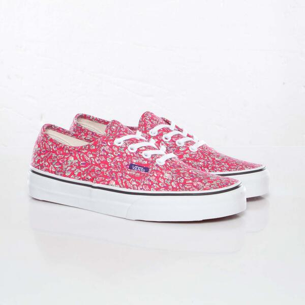 0d6aa597a5  3 RT  Avaults   po10 Vans x Liberty London (Authentic) Leaves Pink