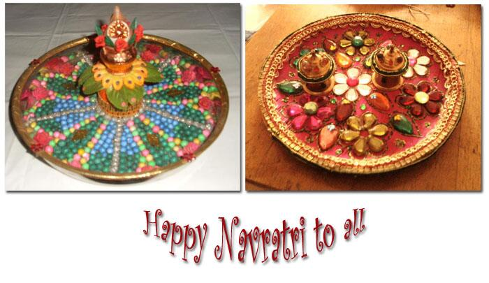 Indusladies indusladies twitter for Aarti thali decoration competition