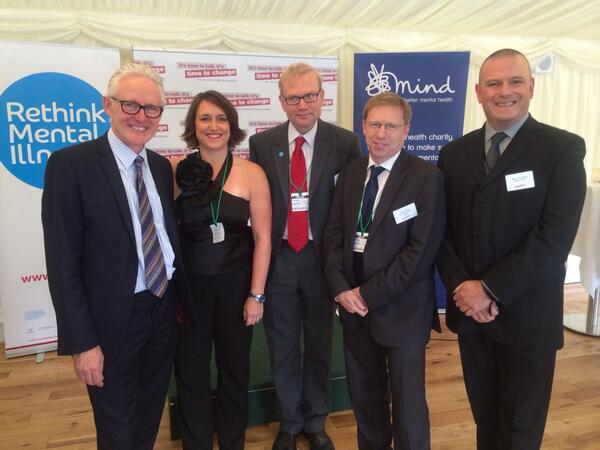 Norman Lamb at parliamentary reception