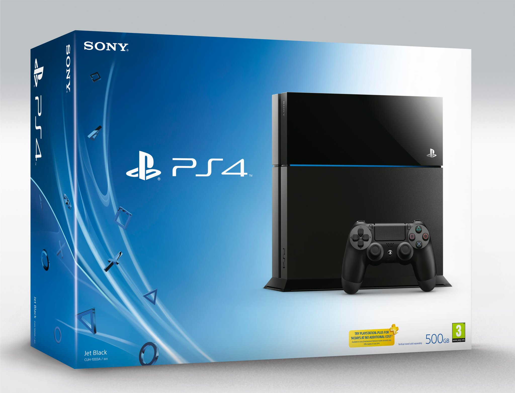 PS4 And Accessory Retail Boxes Revealed