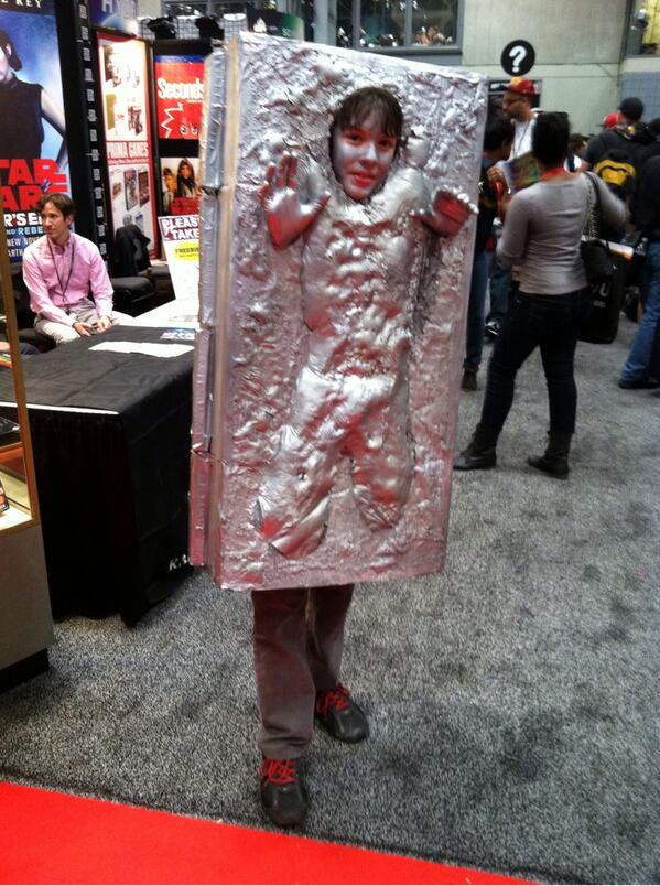 Our choice for Thursday's #NYCC costume of the day was this young man. http://twitter.com/DelReyStarWars/status/388658284724772864/photo/1