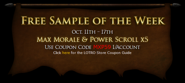 Lotro store sales january 19th – 26th | lotro players.