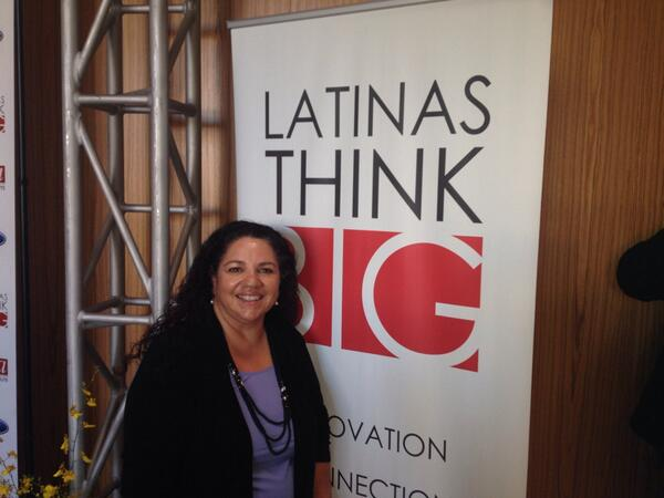 Hello there!  >> RT @zulmaramaria: We r rockin it at #LATINASTHINKBIG http://twitter.com/zulmaramaria/status/388831750463291392/photo/1