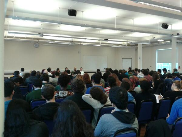 From the opening panel on day one; more than 150 people attended the two-day conference.