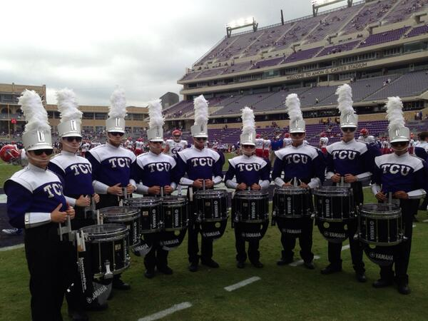 RT @tcuband: First game for @TCU