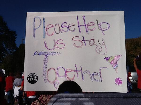 Nebraskans marching for family unity #TimeIsNow http://twitter.com/neappleseed/status/389126479142866944/photo/1