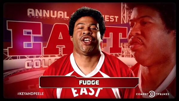 Key And Peele East West Bowl Fudge