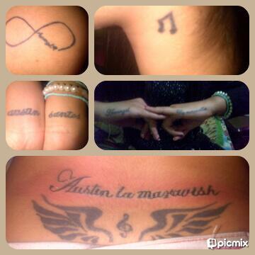 "Arcangel Tatuajes mafe bautista✌ on twitter: ""mis tatuajes!* infinito arcangel"