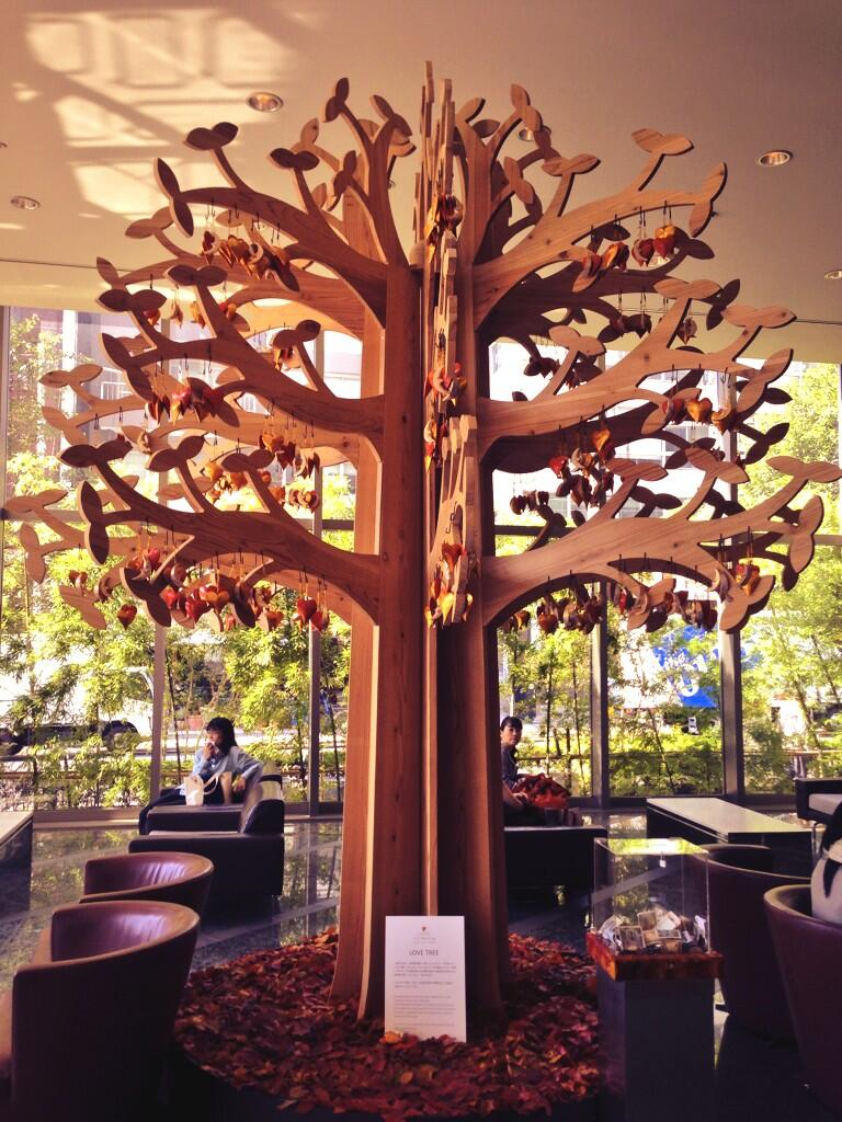 Twitter / kamalravikant: Love tree, Tokyo. ...