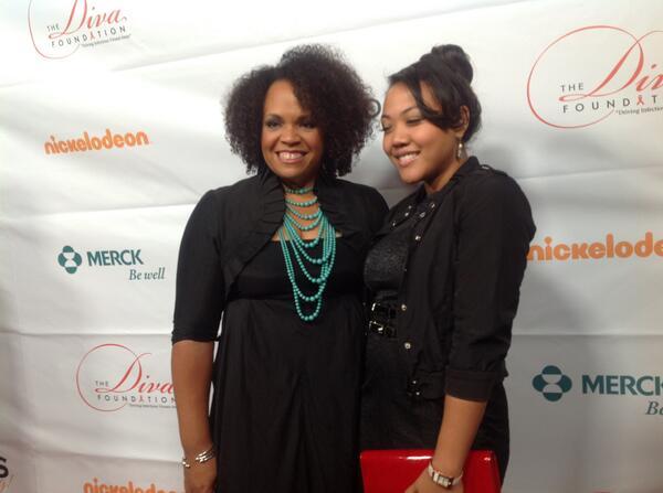 Lisa Price, founder of @carolsdaughter , and assistant @PeaceNLoveLisa http://twitter.com/DivasSimplySing/status/389323521173643264/photo/1