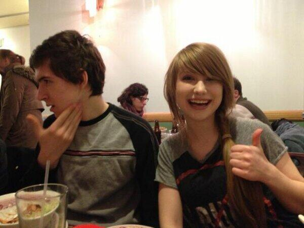 ImmortalHD and his former girlfriend, Tiffany Kudrikow