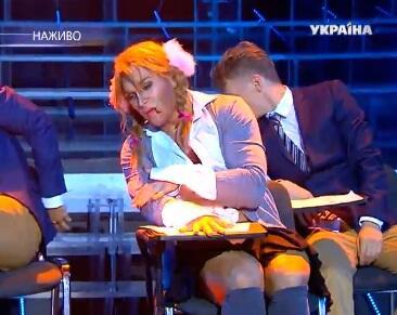 Василий Бондарчук в образе Бритни Спирс