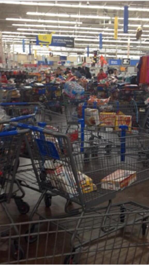 La. Walmart Cleared after Food-Stamp Glitch