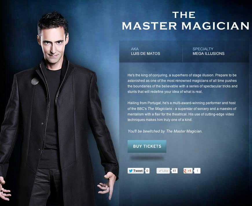 RT @Illusion2point0: The Master Magician- @LdMatos http://t.co/KrsNGElyhp