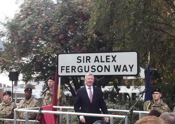 Pictures: Sir Alex Ferguson unveils the Sir Alex Ferguson way
