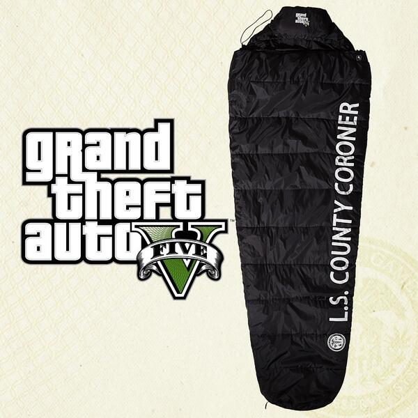 Rt This Today For A Chance To Win 1 Of 10 Gtav Body Bag Sleeping