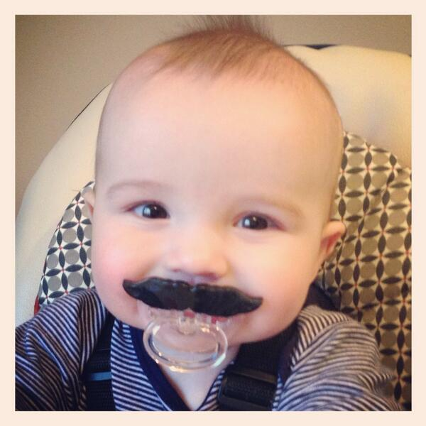 When I grow up I want to be an astronaut just like @Cmdr_Hadfield oh and his moustache is pretty cool too http://twitter.com/izznjax/status/389934749847785472/photo/1