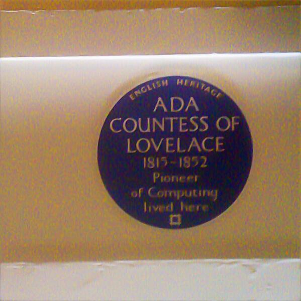 It's Ada Lovelace day! Here's to computing being driven by the clever, the creative & persistent — regardless of sex. http://t.co/LyWMjpxpSO