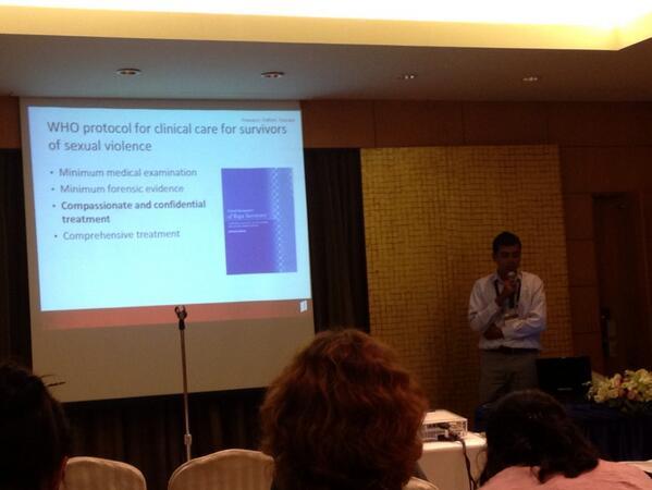 Great presentation on community health workers providing care to sexual violence  in #Burma #SVRI #SVRIForum http://twitter.com/smartindc/status/390063838839578624/photo/1