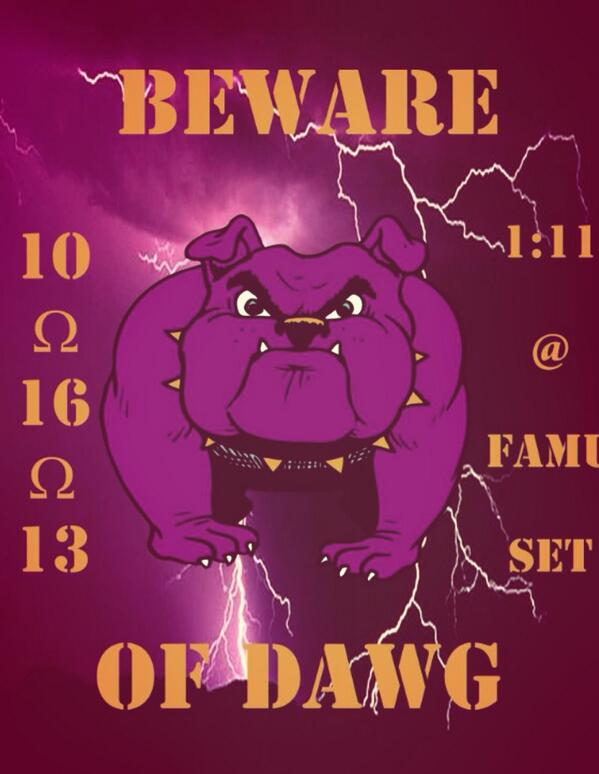 Let The Countdown Begin. We About To Release Them Amazing Dogs #iHopeTheyReady #NWTS #RDQD @UpsilonPsi @ChiOmegaQues http://t.co/8m38EKPGAl