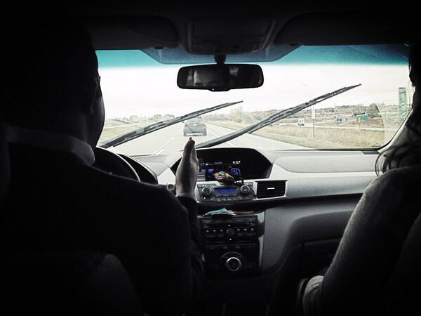 Heading to #2013ncpp on a rainy Tuesday. @zach_c @KateSalvner @StelterCompany http://twitter.com/StelterCompany/status/390128145283551235/photo/1