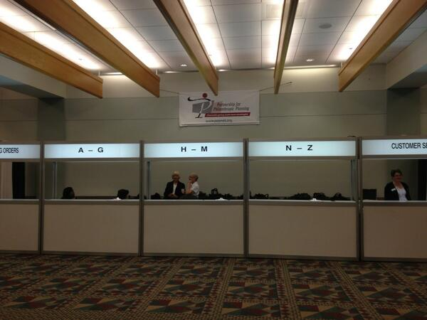 #2013NCPP registration opens in 10 minutes on the Mezzanine level of the Convention Center http://twitter.com/PPPphilanthropy/status/390157363581157376/photo/1