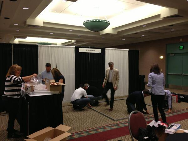 @StelterCompany getting setup for the #2013ncpp conference in Minneapolis. http://twitter.com/jrhanson/status/390170420399190016/photo/1