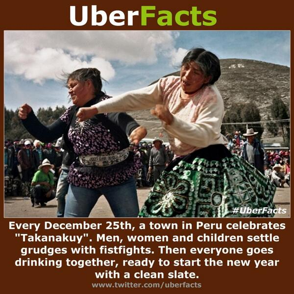 """@UberFacts: December 25th is a bit of a different holiday in Peru: http://t.co/srmjwJ1fdA"" I need this in my life"