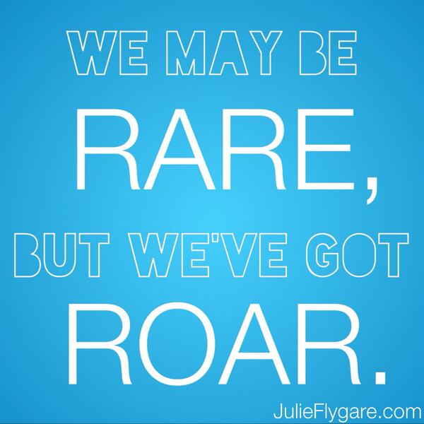 @SDFatPhRMA @wegohealth Thank you, Stephanie! I am looking forward to the #rarePOV Tweetchat tomorrow. #Roar http://twitter.com/RemRunner/status/390501811406110721/photo/1