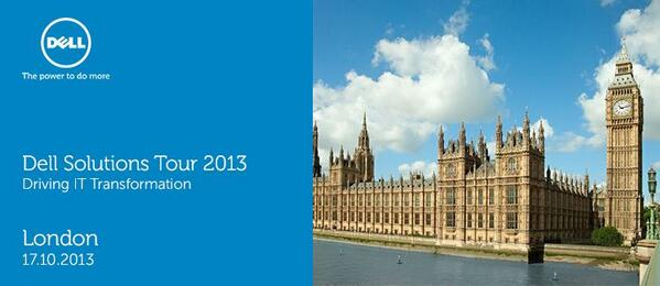 Thumbnail for Dell Solutions Tour 2013 - London