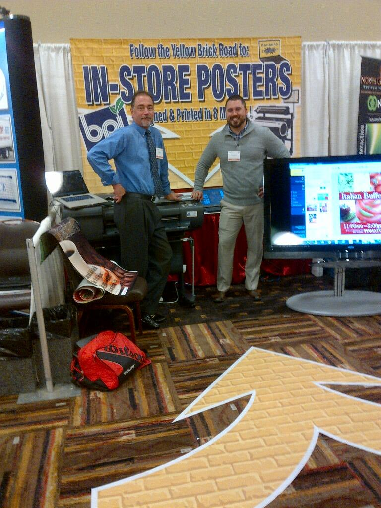 Twitter / YourBPI: Our booth setup at the Wisconsin ...