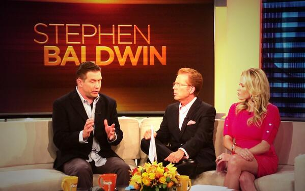 Stephen Baldwin was arrested for his debts last year