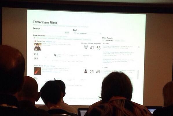 Breaking news dashboard to review social sources. #ONA13 #newsvis http://twitter.com/cbyrne19/status/390824883992952832/photo/1