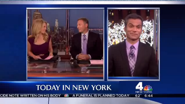 We love seeing our friends at @NBCNewYork wearing purple today! #SpiritDay #prideNBCU http://twitter.com/OUTNBCUniversal/status/390811100368756738/photo/1